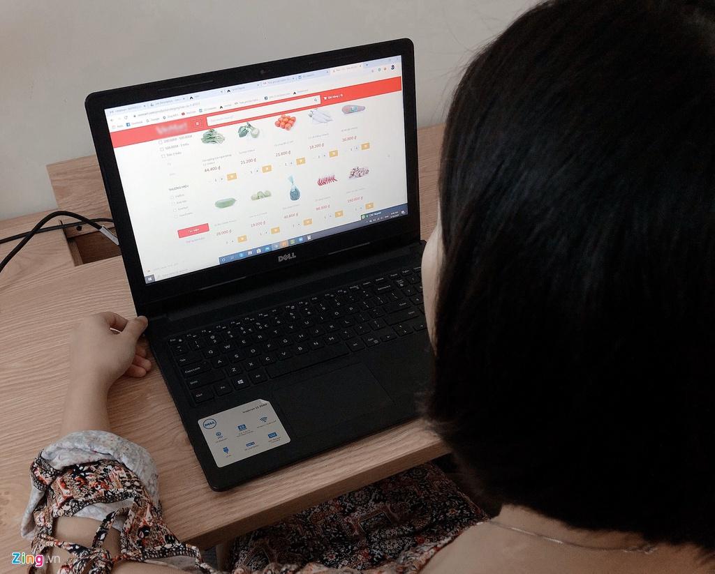 Bùng nổ 'đi chợ online' thời dịch bệnh