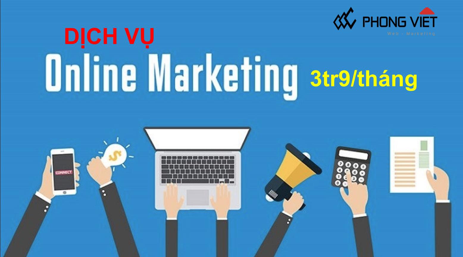 Trải Nghiệm gói dịch vụ Marketing Online Google và Facebook chỉ 3tr9/tháng