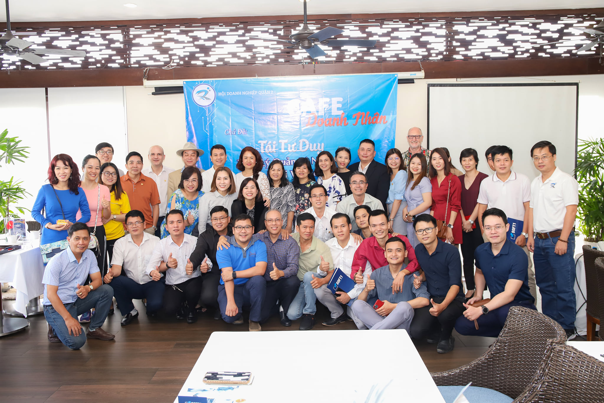 Chương trình giao lưu cafe Doanh nhân tháng 6 Hội doanh nghiệp Quận 2